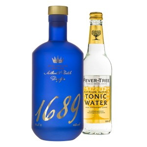 Gin 1689 0,7L + Gratis Fever Tree Tonic 0,5L