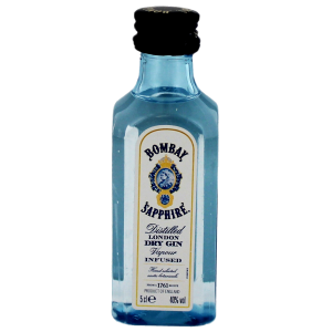 Bombay Sapphire Gin Miniatures 0,05L PET