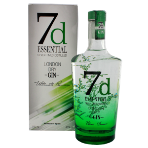 7d Essential London Dry Gin 0,7L -GB-