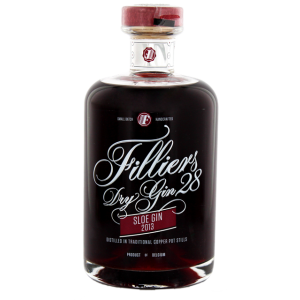 Filliers Dry Gin 28 Sloe Gin 2013 0,5L