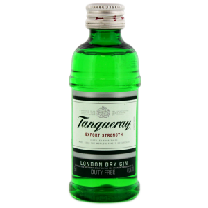 Tanqueray Dry Gin Miniatures 0,05L PET