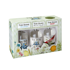 The Duke Dry Gin Set BIO (Munich/Rough/Wanderlust) Miniatures 3x0,05L